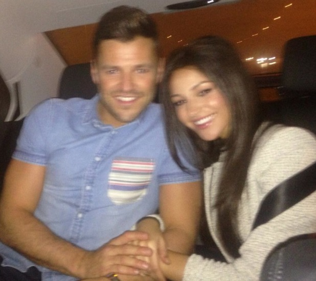 Mark Wright and Michelle Keegan enjoy night out in London - 20 April 2014