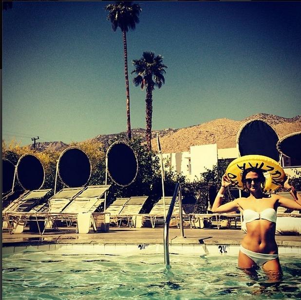 Millie Mackintosh in a bikini on holiday 21.4.14