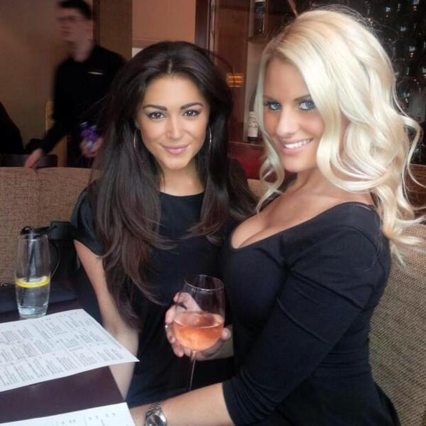 Casey Batchelor and Danielle Armstrong hit Essex on girlies night out, 20 April 2014