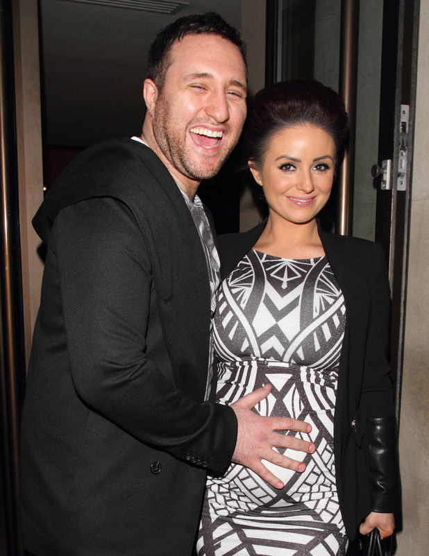 Antony Costa and Rosanna Jasmin at the Womans Own Big Chocolate Tea Party held at the Mayfair Hotel, London 03/12/2014