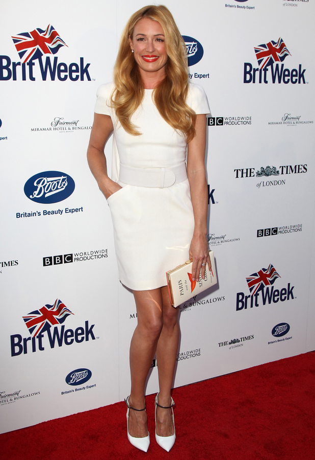 Cat Deeley attends the 8th Annual BritWeek launch party in Los Angeles, America - 22 April 2014