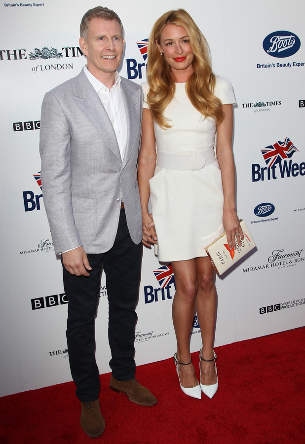 Cat Deeley and Patrick Kielty attend the 8th Annual BritWeek launch party in Los Angeles, America - 22 April 2014