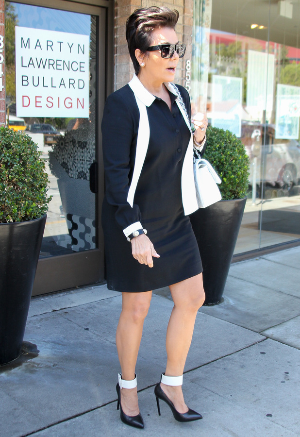 Kris Jenner out in Los Angeles, America - 24 April 2014