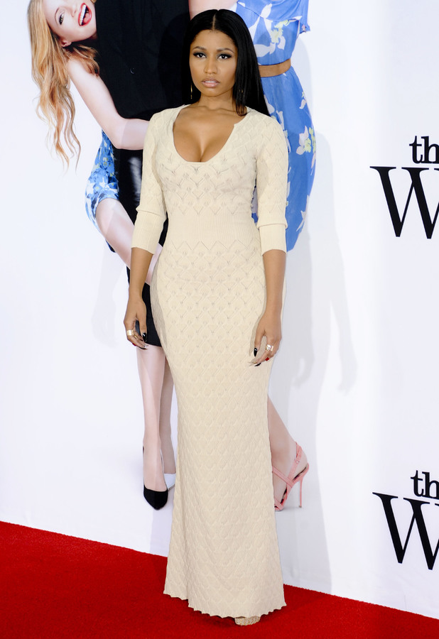 Nicki Minaj steps out at the premiere of The Other Woman in Los Angeles, America - 21 April 2014