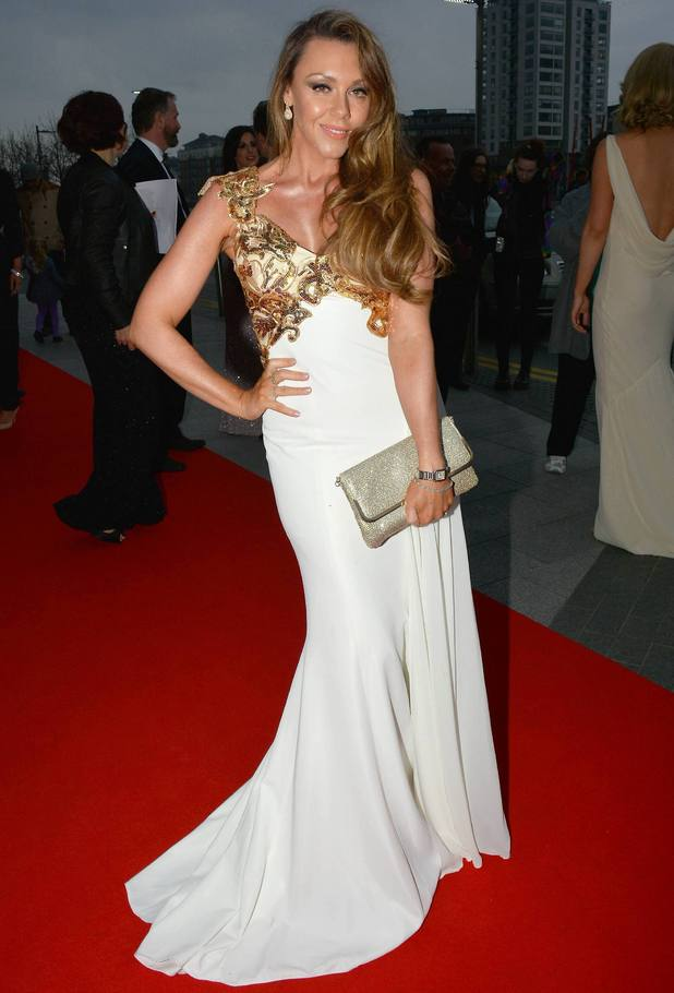 Michelle Heaton at VIP Style Awards and The Late Late Show, 25 April 2014
