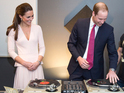 Prince William and Catherine Duchess of Cambridge visit Adelaide, Australia - 23 Apr 2014 Catherine Duchess of Cambridge visits The Northern Sound System and attempts some DJing