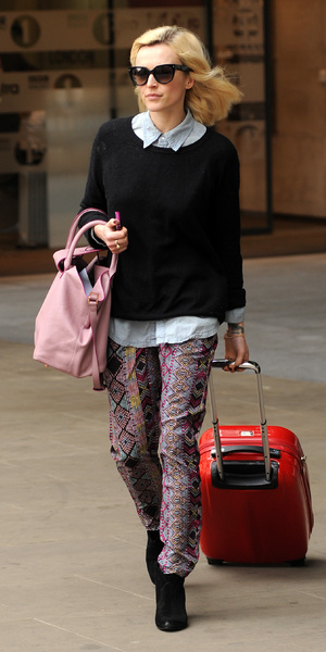 Fearne Cotton at Radio One