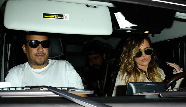 Khloe Kardashian out and about in Los Angeles, America - 26 Apr 2014 Khloe Kardashian and French Montana