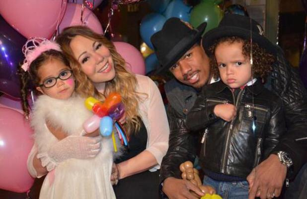 Mariah Carey celebrates her sixth wedding anniversary with husband Nick Cannon - and the couple celebrate their twins Monroe and Moroccan's third birthday (30 April).