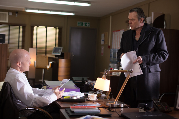 EastEnders, David confronts Max, Thu 1 May