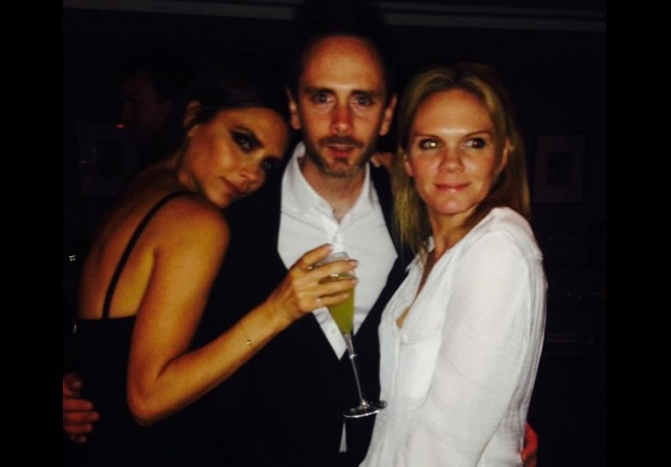 Victoria Beckham celebrates 40th with her siblings, Apr 14