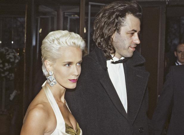 Paula Yates and Bob Geldof