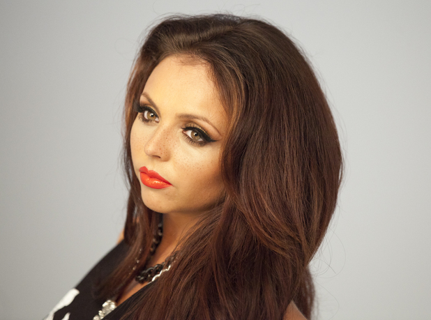 Little Mix's Jesy Nelson models her make-up range for Collection - April 2014