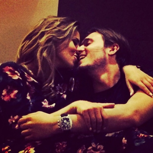 Sam Faiers uploads intimate picture of friend Ferne McCann about to kiss boyfriend Charlie Sims, 2 May 2014
