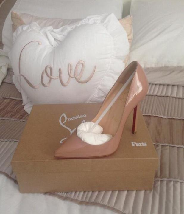TOWIE's Danielle Armstong celebrates her birthday and gets Christian Louboutin heels from ex-boyfriend James Lock, 3 May 2014
