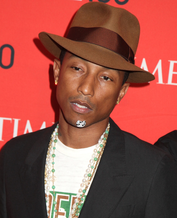 Pharrell Williams at the Time 100 Gala in New York, 29 April 2014