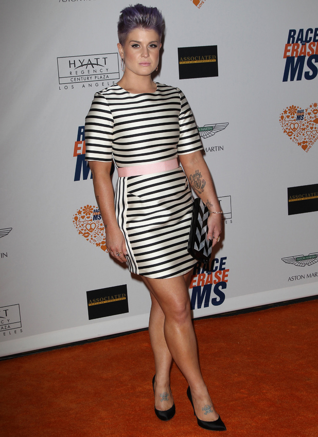 Kelly Osbourne attends 21st Annual Race To Erase MS Gala, 2 May 2014