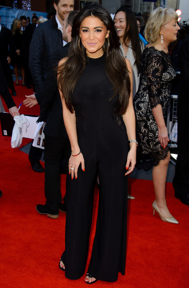 Casey Batchelor attends the premiere of Plastic in London, England - 29 April 2014