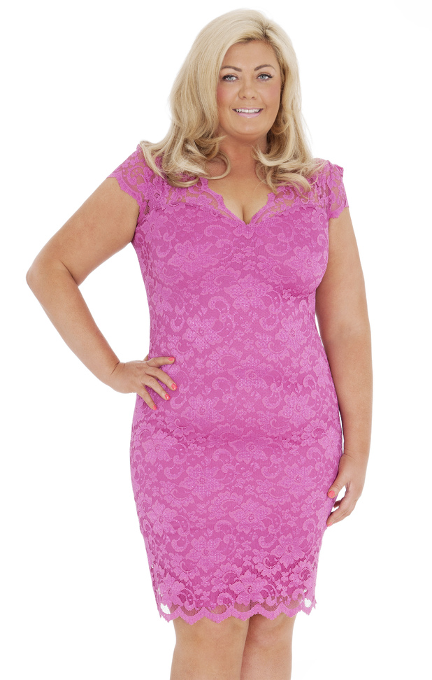 TOWIE's Gemma Collins models the Santorini dress from her fifth clothing collection - 1 May 2014