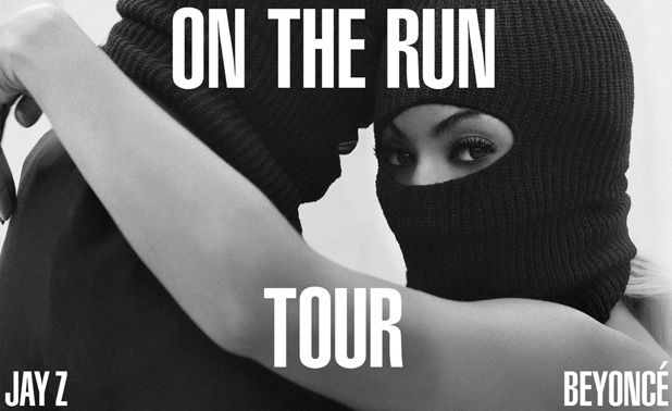 Beyonce and Jay Z announce On The Run Tour with artwork posted to Beyonce's official website, 28 April 2014