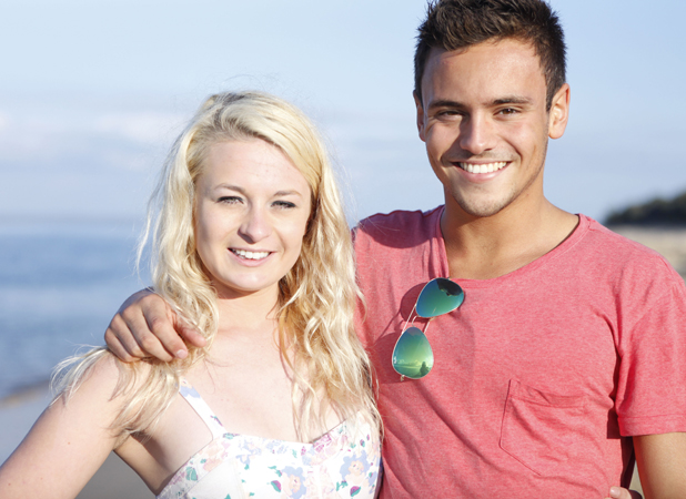 Tom Daley Goes Global: episode four, Tom Daley and Sophie Lee visit Australia. Tom and Sophie. Airs 1 May 2014