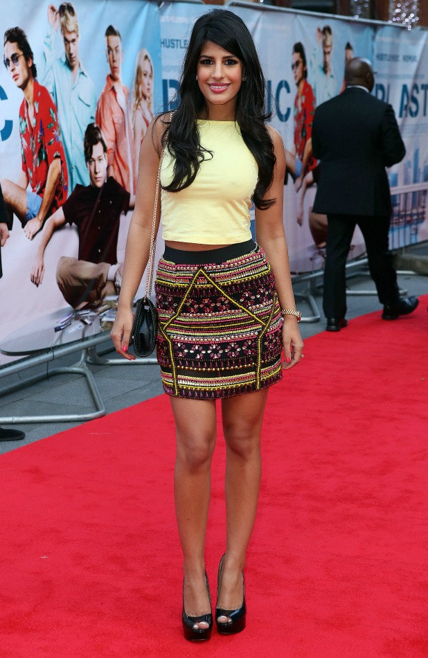 Jasmin Walia, World Premiere of Plastic at the Odeon West End, 29 April 2014
