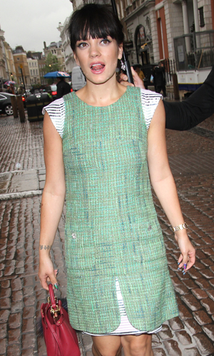 Lily Allen, Chanel VIP Tea Party launch in Covent Garden, 1 May 2014