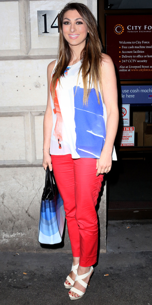 Luisa Zissman at the launch party for the new luxury eyelash brand Secret Diva at Steam and Rye, 30 April 2014
