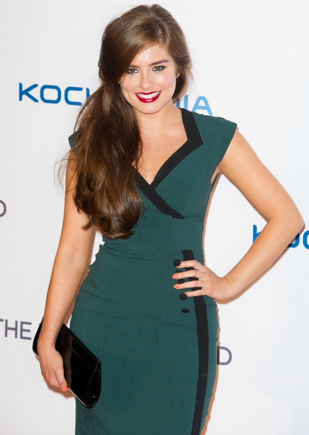 Rachel Shenton, The Frozen Ground UK premiere held at the Vue cinema - Arrivals, July 2013