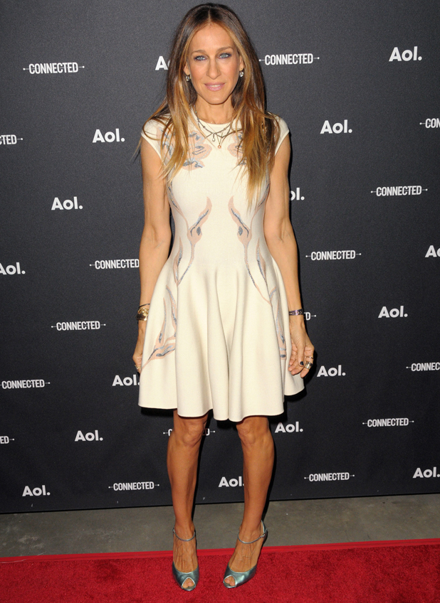 Sarah Jessica Parker, 2014 AOL NewFront at the Duggal Greenhouse, New York, April 2014