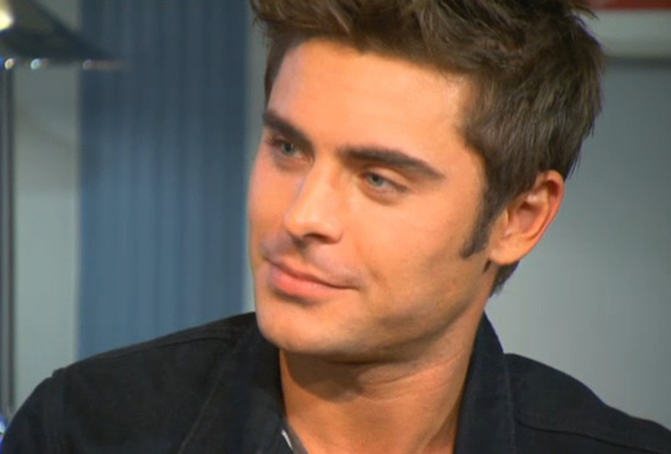 Zac Efron appearing on Good Morning Britain, 29 April 2014