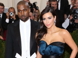 Kim Kardashian and Kanye West attend the Costume Institute Gala Benefit at the Metropolitan Museum of Art in New York, America - 5 May 2014