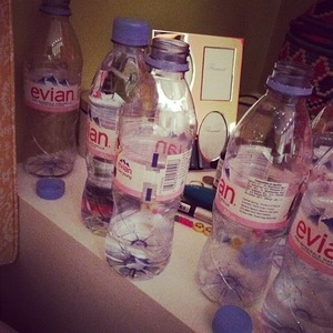 Lily Allen posts photo of medication shortly before being taken to hospital (7 May).