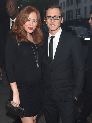 Ritchie Neville and Natasha Hamilton at The London Cabaret Club - Spring VIP launch 05/08/2014 London, United Kingdom