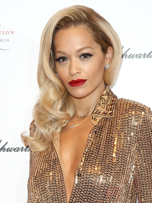 Rita Ora, 3rd annual 'Gabrielle's Gala' fundraiser hosted by Gabrielle's Angel Foundation for Cancer Research UK at Old Billingsgate - Arrivals, 7 May 2014