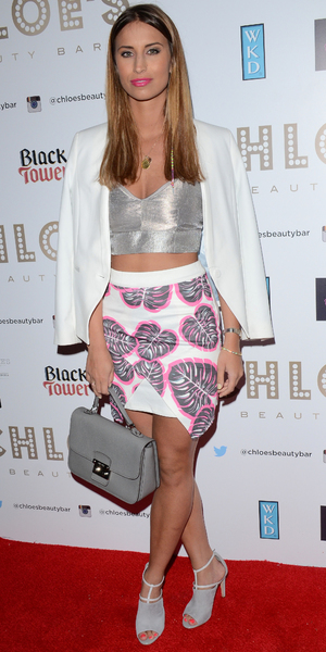 Ferne McCann attends launch of Chloe Sims' beauty bar in Brentwood - 8 May 2014