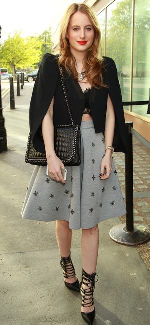 Made In Chelsea's Rosie Fortescue attends Binky Felstead's book launch, held at Whisky Mist in Mayfair, London - 6 May 2014