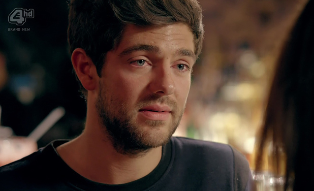 Alex Mytton speaks to Binky after his infidelity is revealed. Episode aired: 21 April 2014.