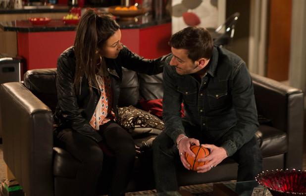Corrie, Tina comforts Peter, Fri 9 May