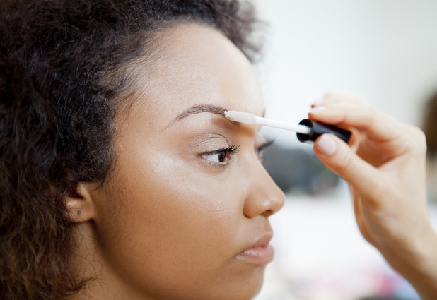 Little Mix's Leigh-Anne Pinnock models her make-up range for Collection - 7 May 2014