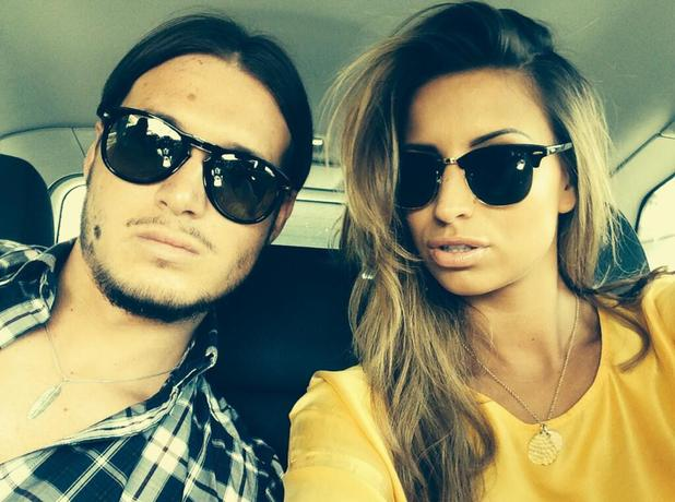 TOWIE's Charlie Sims and Ferne McCann cement their relationship with a serious selfie, 4 May 2014
