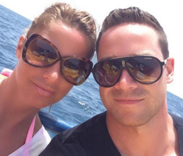 Katie Price and Kieran Hayler on holiday in Cape Verde, April 2014