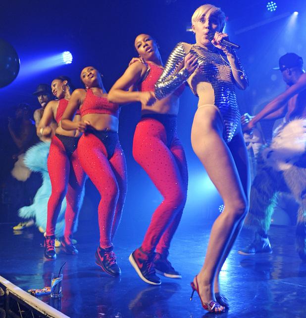 Miley Cyrus performs at GAY