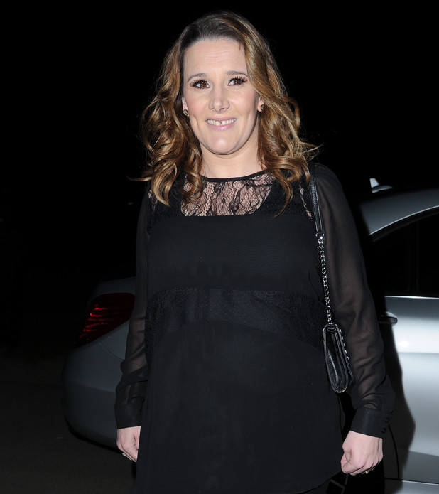 Sam Bailey arrives Manchester Airport Concorde hanger with Husband Craig Pearson to perform for Manchester Prides Supersonic charity event. Manchester 04/11/2014 Manchester, United Kingdom