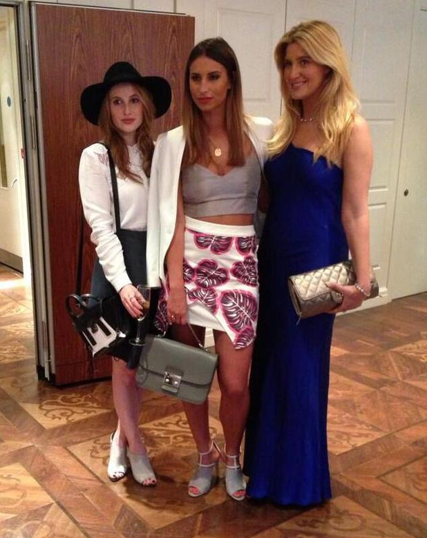 Ferne McCann, Rosie Fortescue and Cheska Hull attend the launch of Tru Diamonds in London, England - 8 May 2014