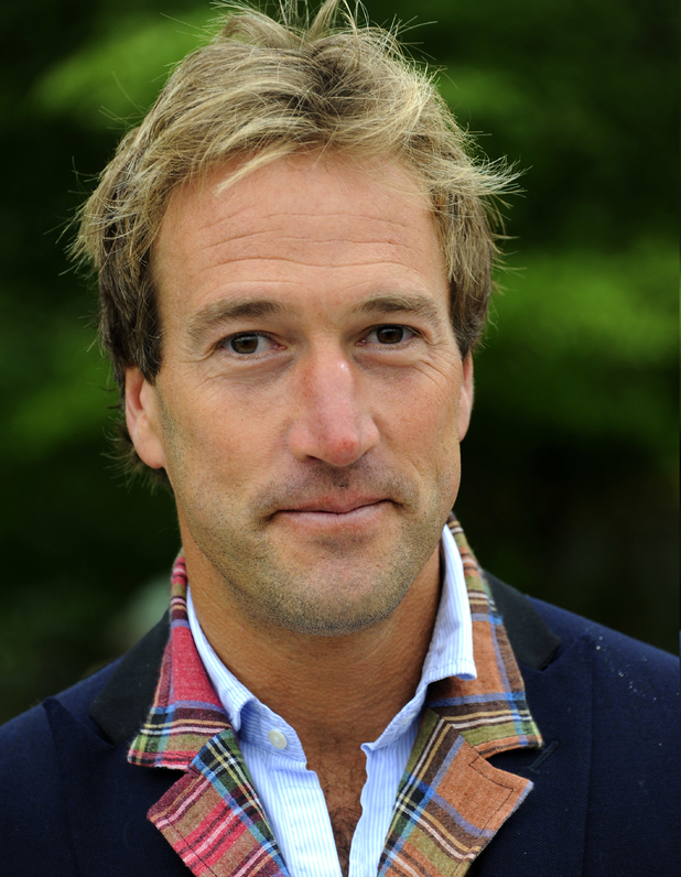Ben Fogle at RHS Chelsea Flower Show 2013 - VIP and press preview day - May 2013