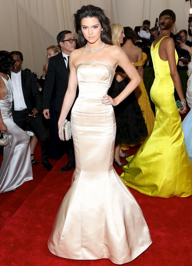 Kendall Jenner, the 'Charles James: Beyond Fashion' Costume Institute Gala at the Metropolitan Museum of Art on May 5, 2014 in New York City.