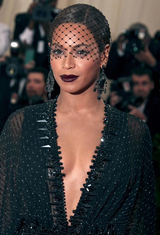 Beyoncé attends the Costume Institute Gala Benefit held at the Metropolitan Museum of Art in New York, America - 5 May 2014