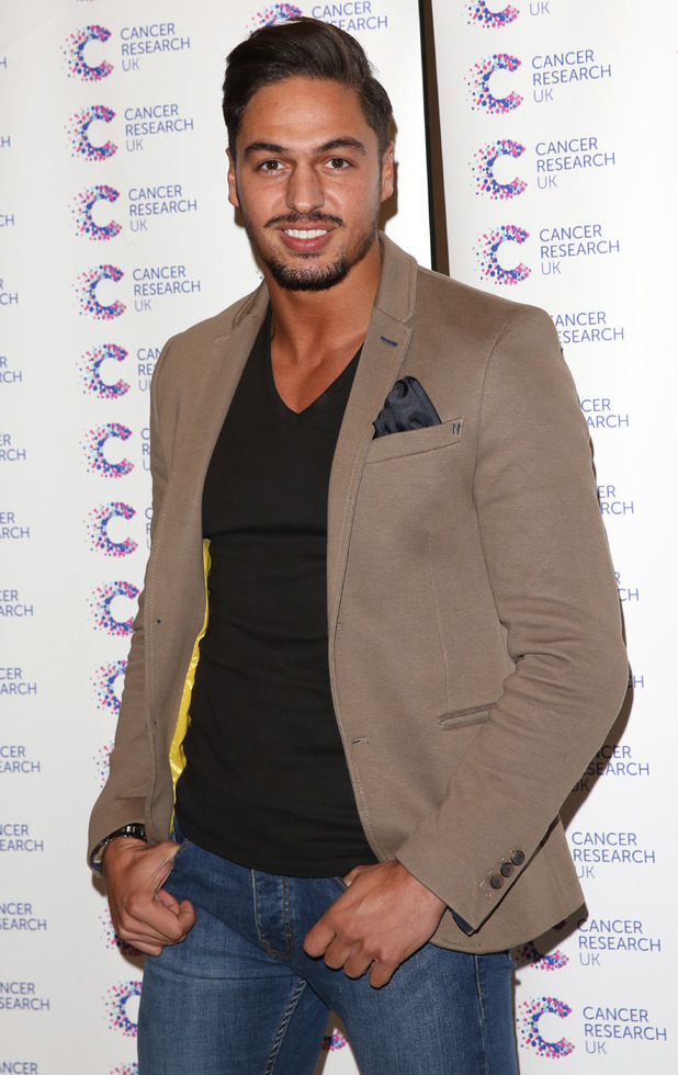 Mario Falcone at  'Jog-on to Cancer' fundraiser