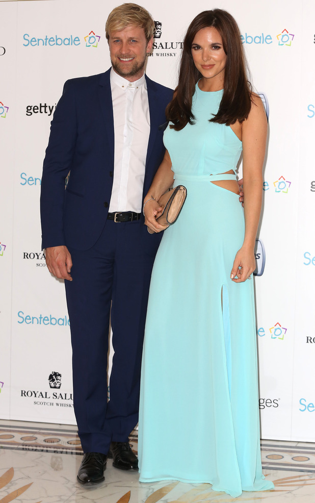 Jodi Albert and Kian Egan attend the Sentebale Summer Party held at at The Dorchester Hotel in London, England - 7 May 2014